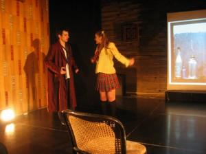 Zilele I L Caragiale 2006  Spectacol teatru-dans LECTIA