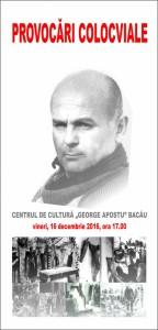 Invitatie vineri, 16 decembrie 2016